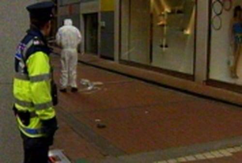Grafton Street - Scene of attack