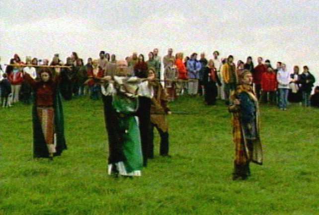 Hill of Tara - Summer solstice marked