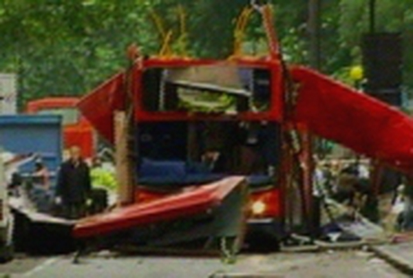 Bus blast -  At least two killed