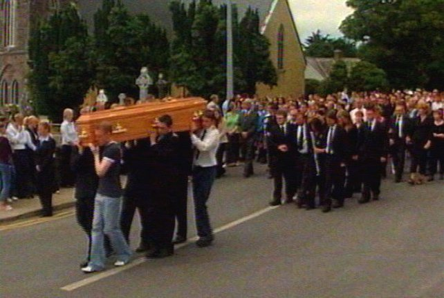 Waterford - Funeral of Tara Whelan