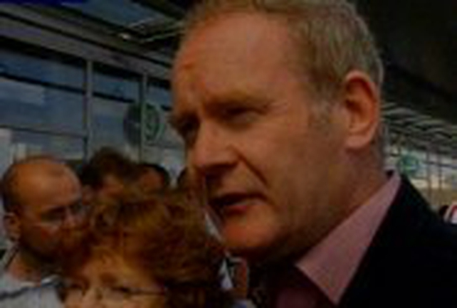Martin McGuinness - Talks in Washington