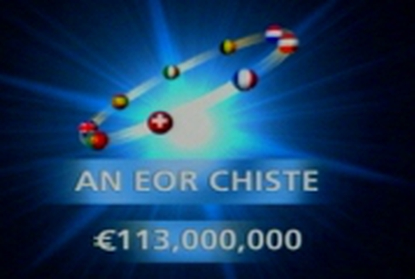 Euromillions - Rollover jackpot prize