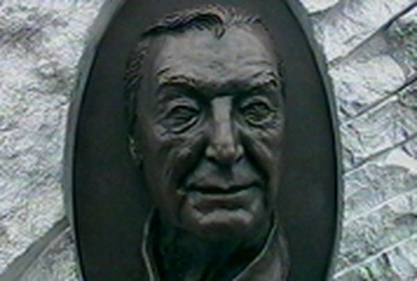 Charles Haughey - Bronze bust unveiled