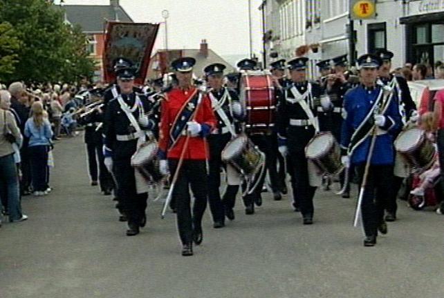 Royal Black Preceptory - First parade in Republic