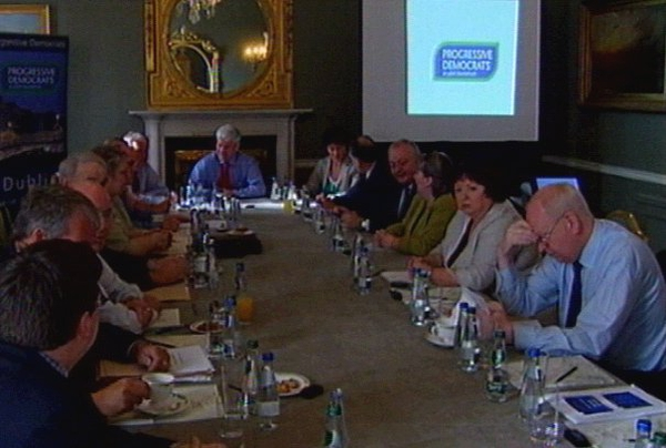 Dublin - PDs hold think-in