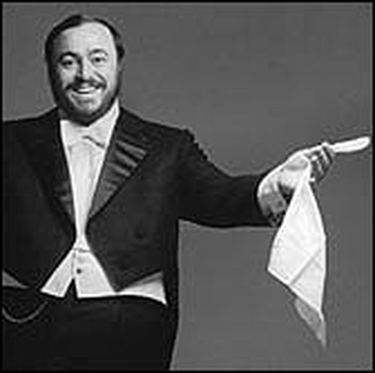 The Pavarotti exhibition.
