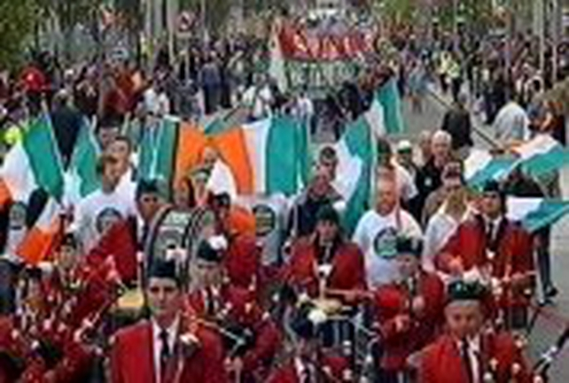 Dublin - Up to 4,000 take part in march