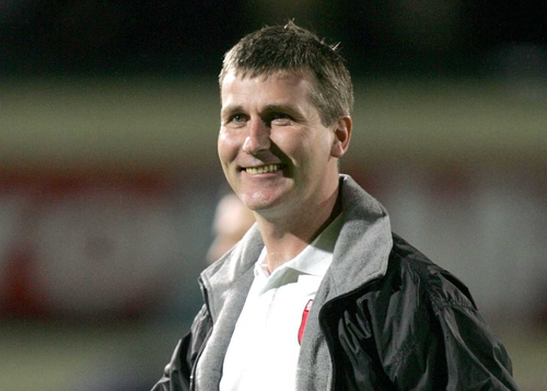 Stephen Kenny left the Brandywell after a fond farewell from the Derry City faithful
