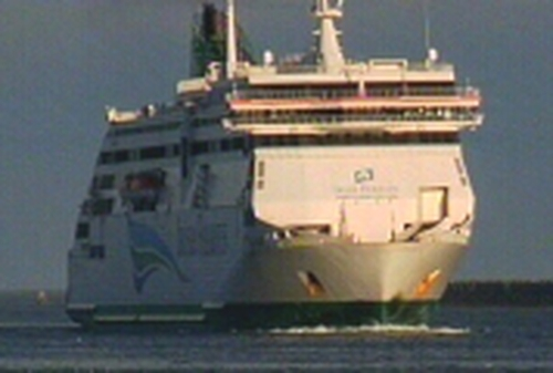 Irish Ferries - Row over staff outsourcing
