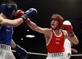 Irish boxers do double on England