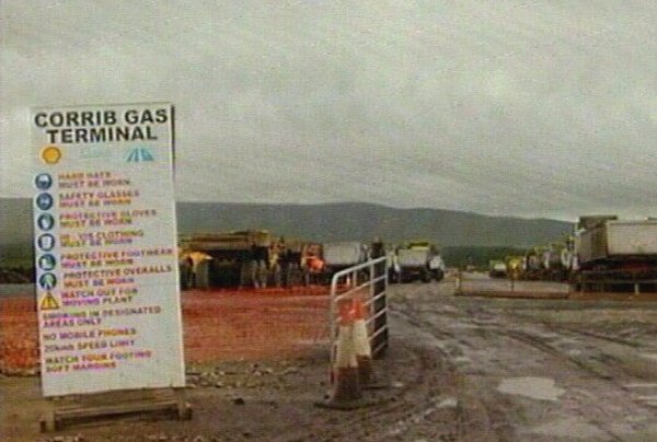 Corrib pipeline - High Court satisfied with Shell