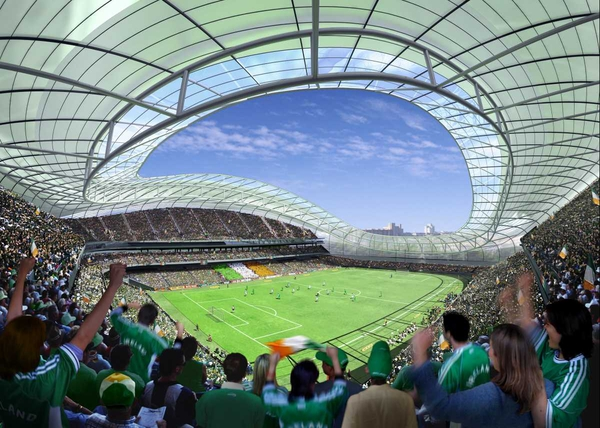 Building of the proposed new Lansdowne Road could be delayed