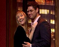 Pauline McLynn and Keith Duffy