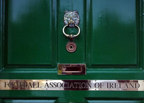 The FAI headquarters in Merrion Square was the scene of the standoff