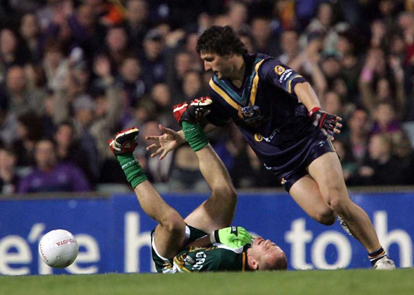Chris Johnson's tackle on Philip Jordan was just one of many unsavoury incidents during this year's series