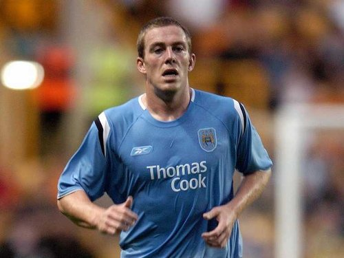 Man City's Richard Dunne was involved in the controversial disallowed goal