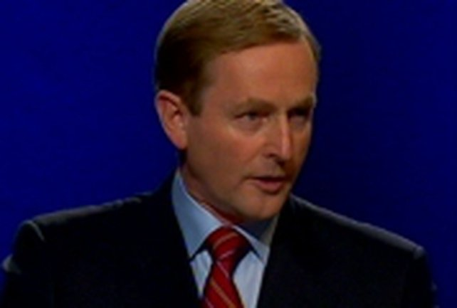 Enda Kenny - Riots may affect peace process in the North