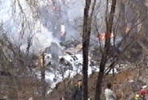 Tehran - 116 dead in plane crash
