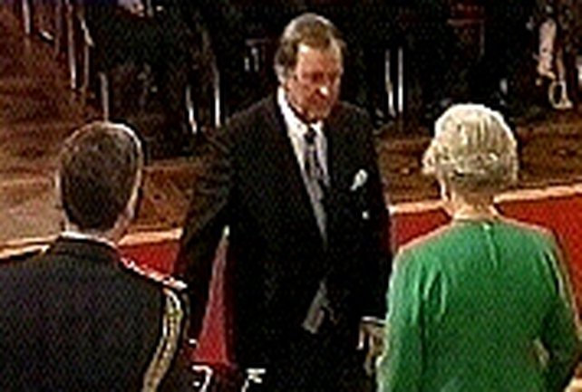 Terry Wogan - Knighted at Buckingham Palace