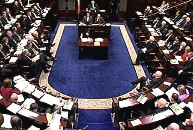 Dáil Éireann - Passed Bill last night