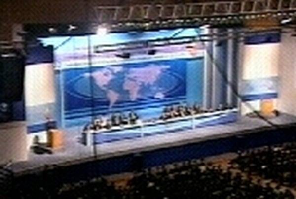 World trade talks - Delegates in Hong Kong