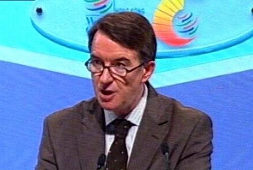 Peter Mandelson - Pressured over export subsidies
