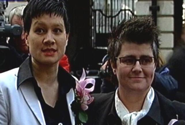 Belfast - First civil partnership ceremony