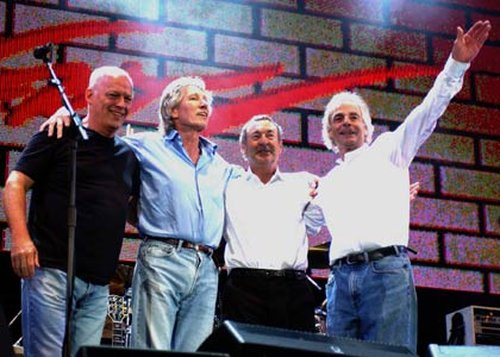 Pink Floyd - Reunited at Live 8