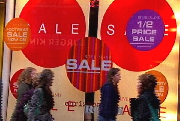 Retail - Sales picked up in December