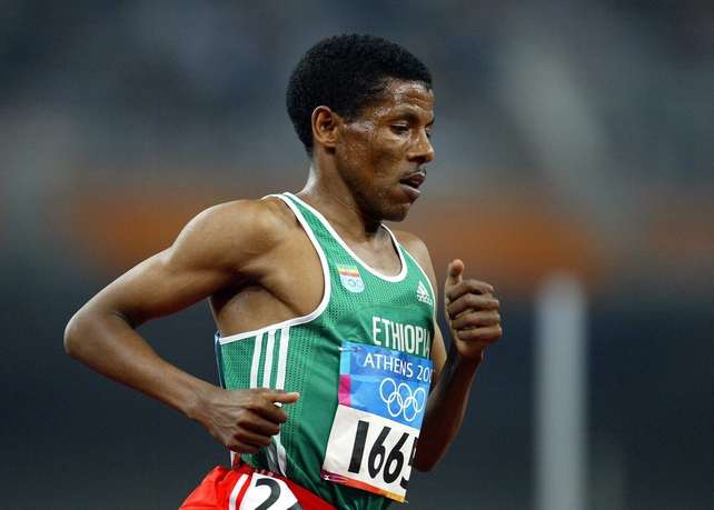 Haile Gebrselassie is set to dominate the marathon for the next number of years
