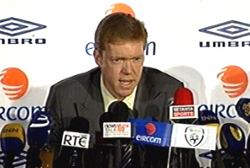 Steve Staunton insists the buck stops with him following his appointment as manager of the Republic of Ireland