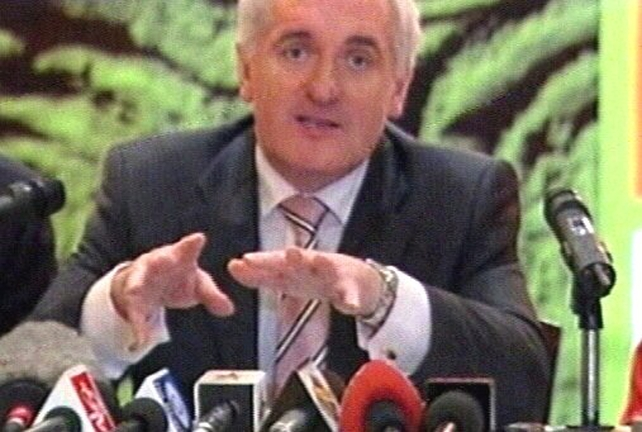 Bertie Ahern - Launches report on constitution