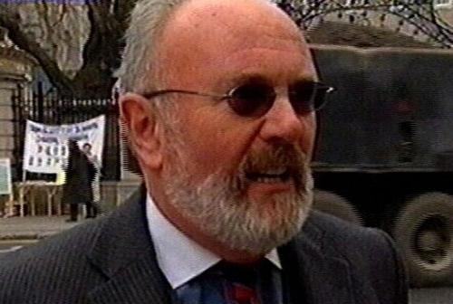 Senator David Norris - Grand marshall for parade