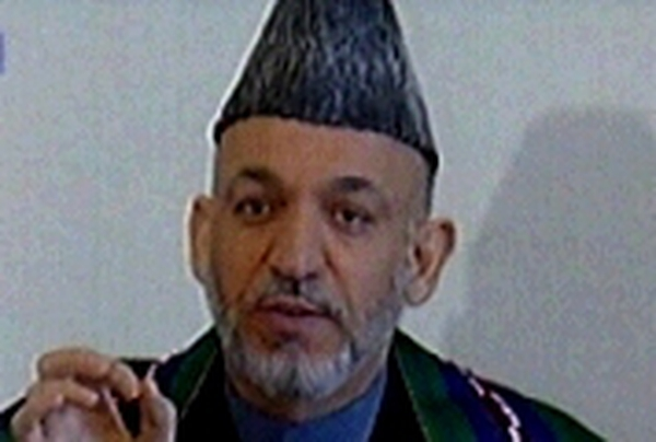 Hamid Karzai - Talks with Pakistan leader