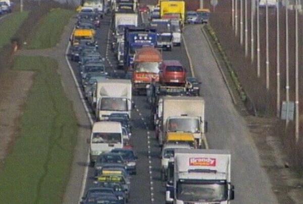 Traffic - Rise in transport emissions