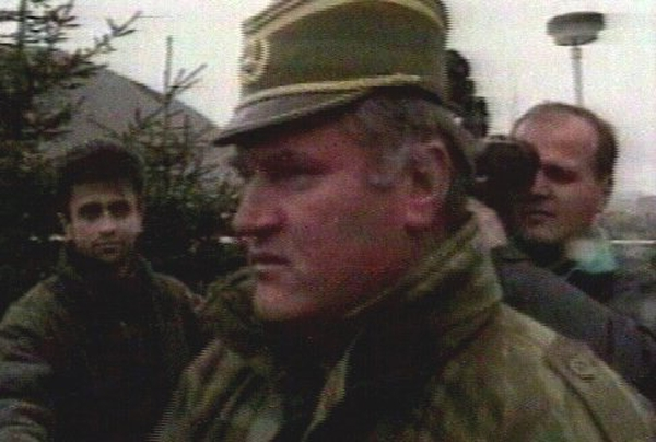 Ratko Mladic - Charged with genocide