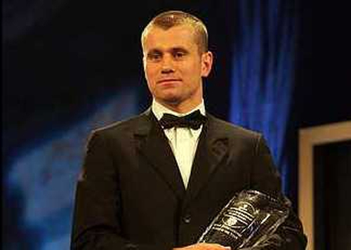 Shay Given won his second consecutive International Player of the Year Award at the City West on Sunday