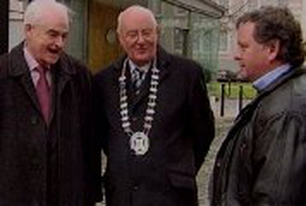 Mallow delegation - Met Bertie Ahern at Government Buildings