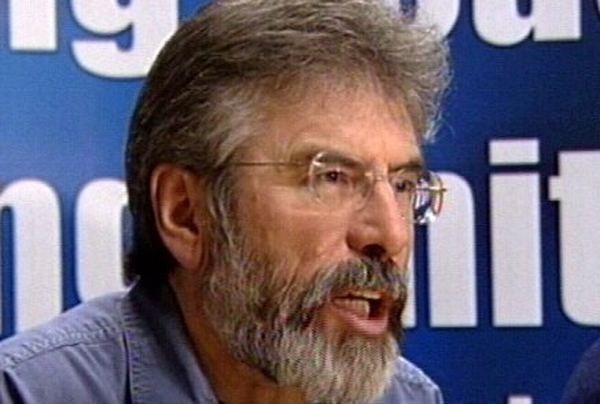 Gerry Adams - To pay tributes later