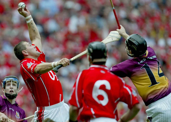 The Wexford v Cork clash is the only Allianz NHL Division 1A match this weekend