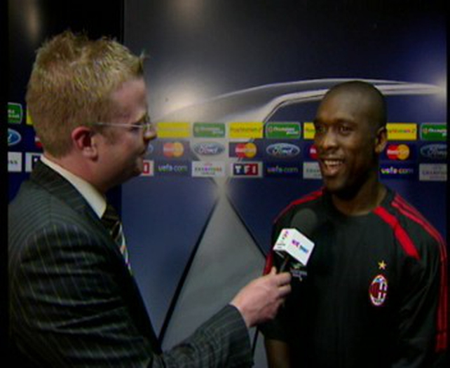 Clarence Seedorf claims that football is not to blame for the latest spate of violence in Italy