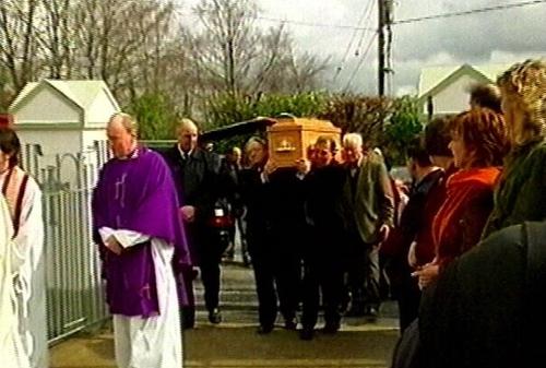 Aughawillan, Co Leitrim - Funeral of John McGahern