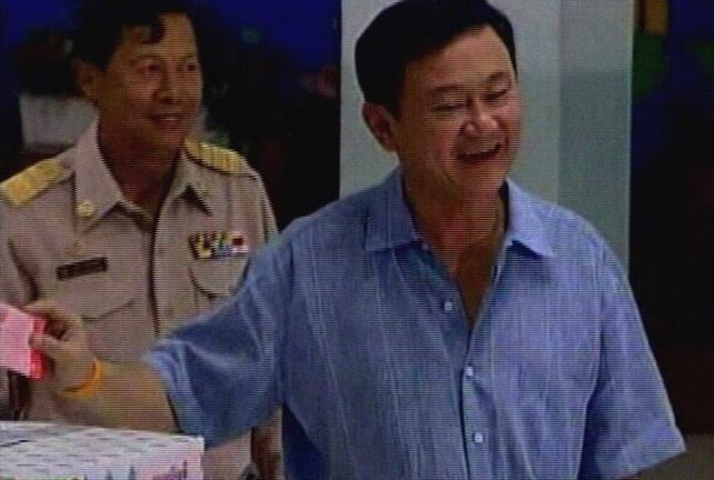 Thaksin Shinawatra - Military coup