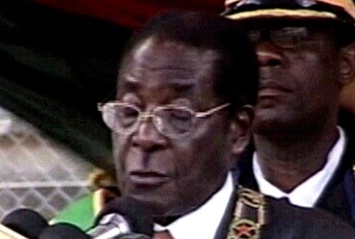 Robert Mugabe - Britain boycotts Lisbon meeting