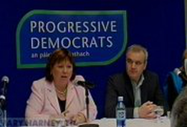 Mary Harney, Colm O'Gorman Charity founder's candidacy announced