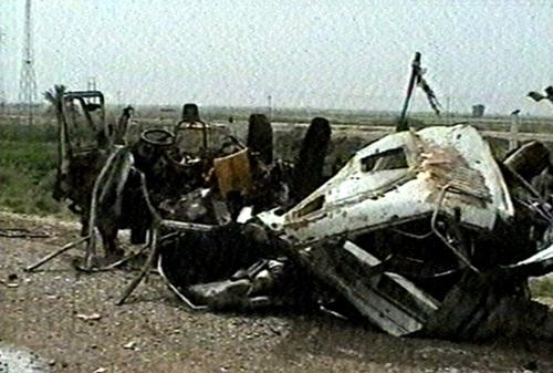 Near Baquba - 12 killed in bus attack