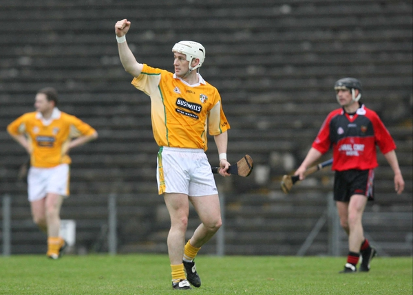 Johnny McIntosh was in fine form for Antrim in SUnday's Ulster SHC final win over New York