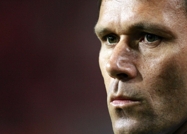 Marco van Basten will step down as Netherlands coach after Euro 2008