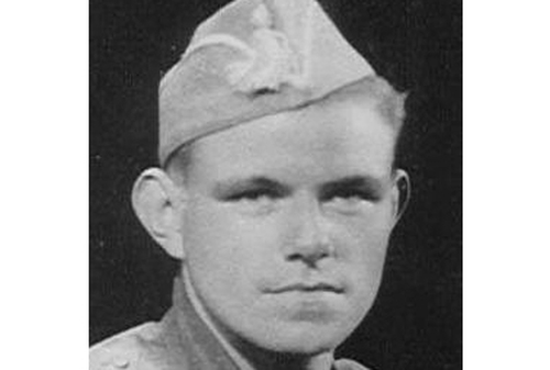 Michael O'Riordan - Pictured in uniform, 1936