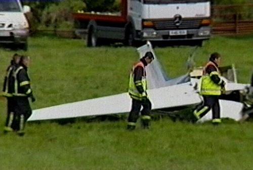 Westmeath - Two die in air crash